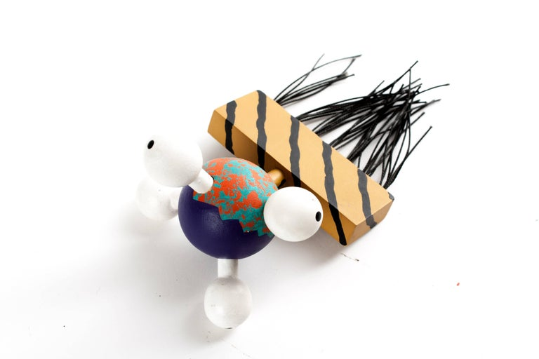American MEMPHIS ZOLO Wooden Toys designed by Byron Glaser and Sandra Higashi for Moma For Sale