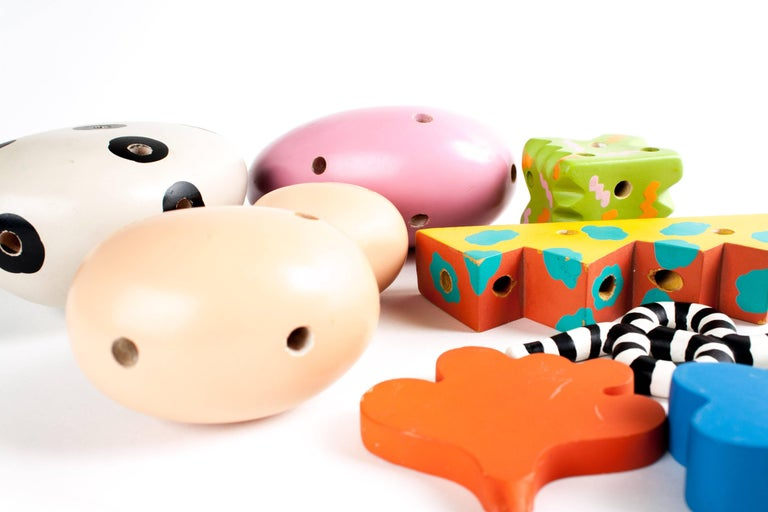 MEMPHIS ZOLO Wooden Toys designed by Byron Glaser and Sandra Higashi for Moma For Sale 2