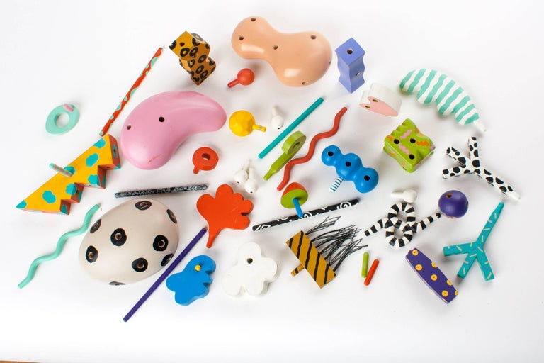 MEMPHIS ZOLO Wooden Toys designed by Byron Glaser and Sandra Higashi for Moma For Sale 3