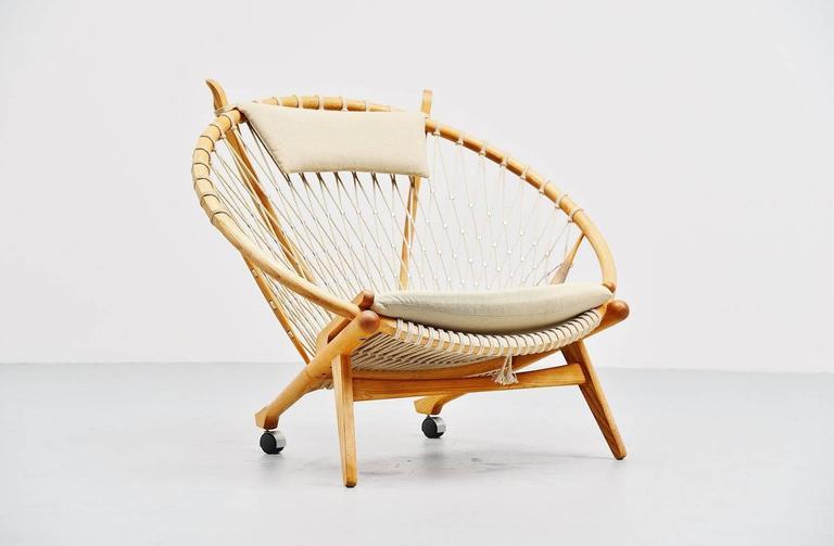 Scandinavian Modern Hans J. Wegner Circle Chair PP-130 PP Mobler, Denmark, 1986