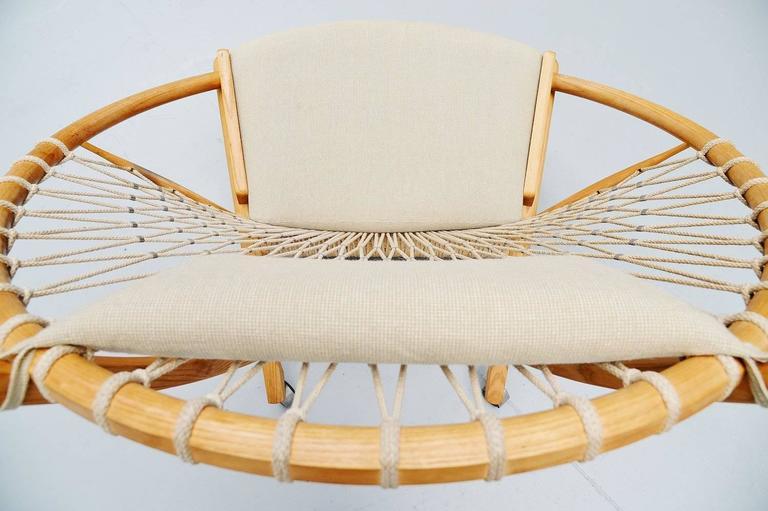 Hans J. Wegner Circle Chair PP-130 PP Mobler, Denmark, 1986 In Good Condition In Roosendaal, Noord Brabant