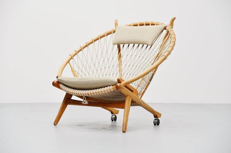 Hans J. Wegner Circle Chair PP-130 PP Mobler, Denmark, 1986 1