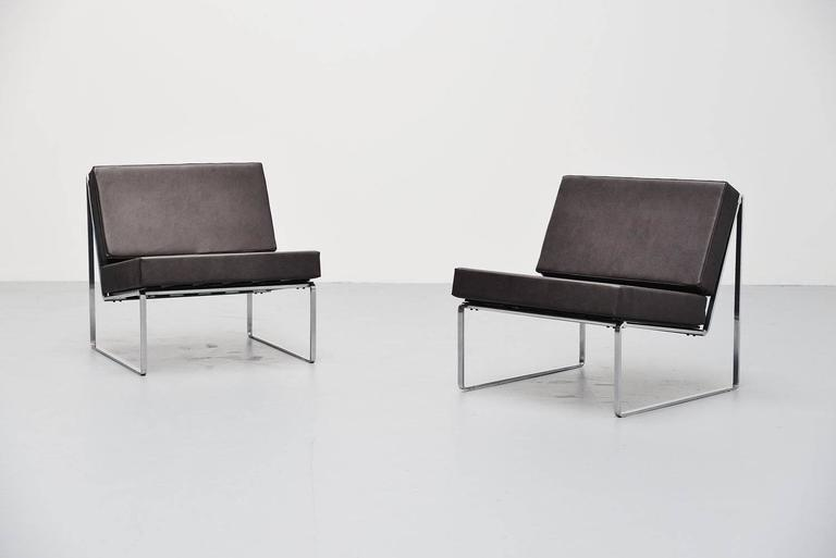 kho liang ie 024 lounge chairs artifort 1962 for sale at 1stdibs