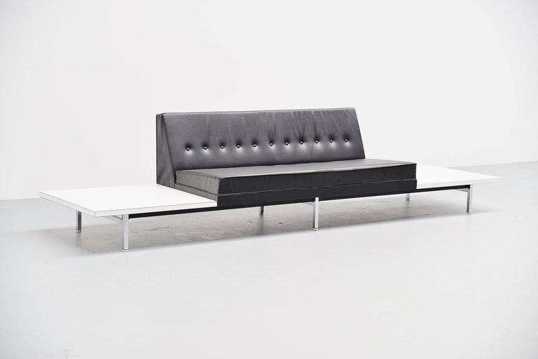 George Nelson Modular Sofa and Tables Herman Miller, 1963 In Good Condition For Sale In Roosendaal, Noord Brabant