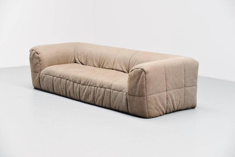 Mid Century Modern Cini Boeri Strips Lounge Sofa Arflex Italy 1972 For