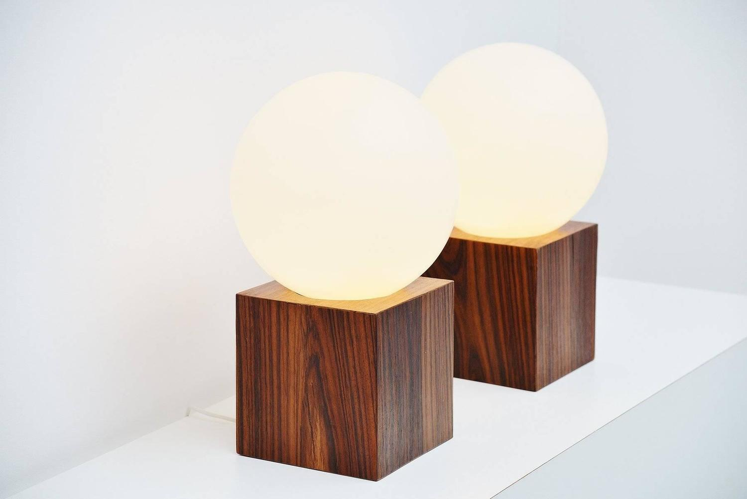 Studio Reggiani Table Lamps Extra Large, Italy, 1970 at 1stdibs