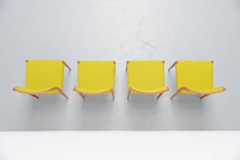 Niels Moller Model 80 Chairs in Oak, Denmark, 1968 4