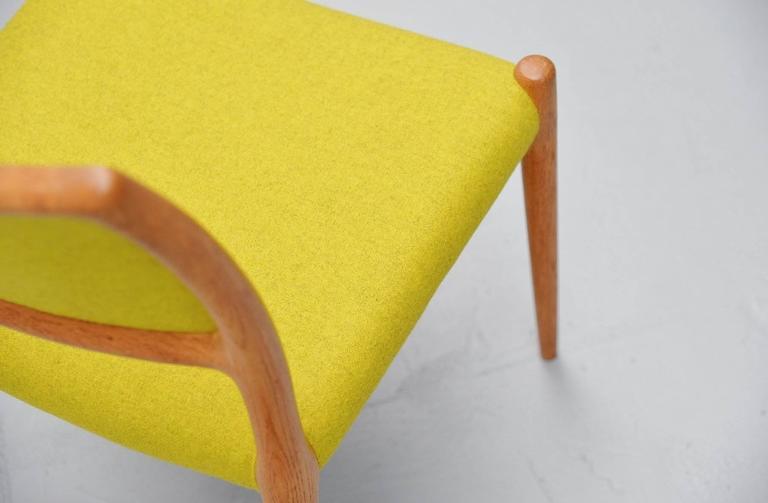 Niels Moller Model 80 Chairs in Oak, Denmark, 1968 9