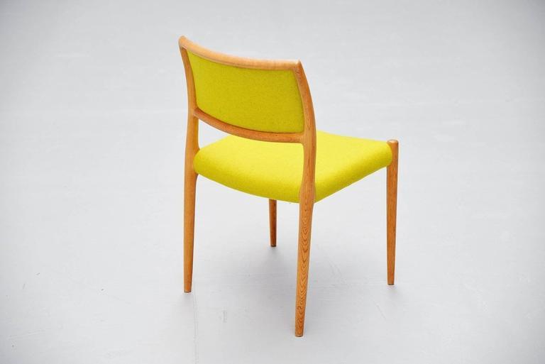 Niels Moller Model 80 Chairs in Oak, Denmark, 1968 10