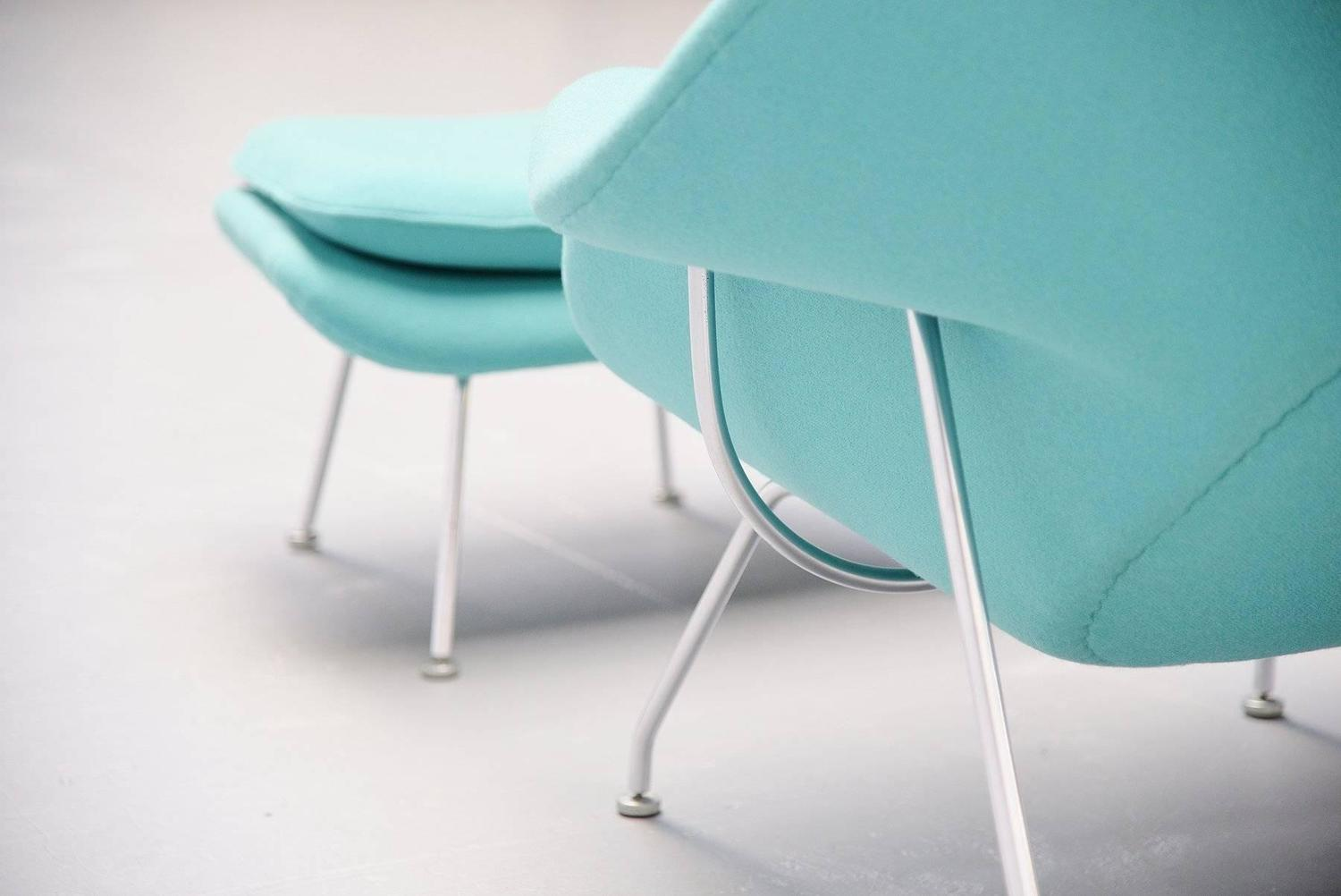 Eero saarinen womb chair knoll international usa 1952 for sale at 1stdibs - Vintage womb chair for sale ...