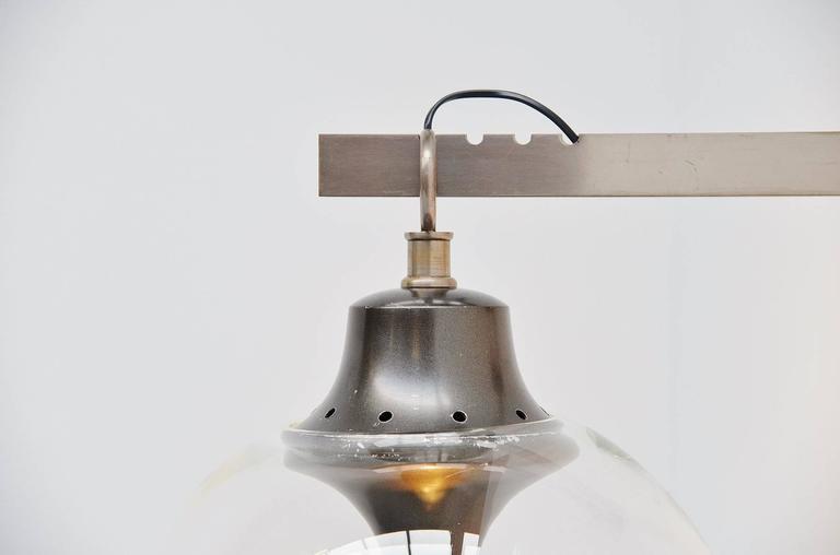 Mid-Century Modern Luigi Caccia Dominioni for Azucena Boccia Wall Lamp, 1969 For Sale