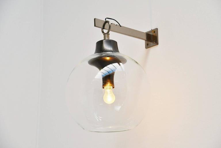 Italian Luigi Caccia Dominioni for Azucena Boccia Wall Lamp, 1969 For Sale