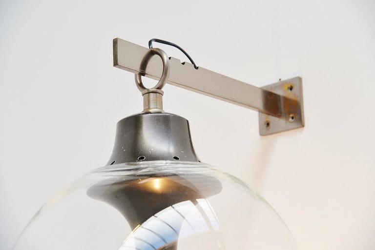 Lacquered Luigi Caccia Dominioni for Azucena Boccia Wall Lamp, 1969 For Sale