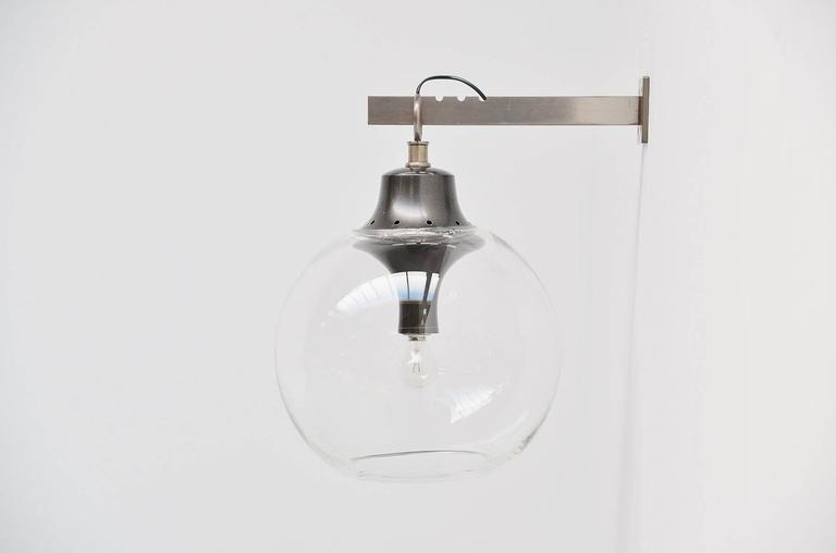 Brass Luigi Caccia Dominioni for Azucena Boccia Wall Lamp, 1969 For Sale