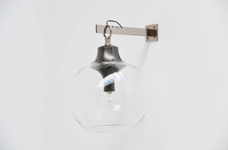 Luigi Caccia Dominioni for Azucena Boccia Wall Lamp, 1969 For Sale 1