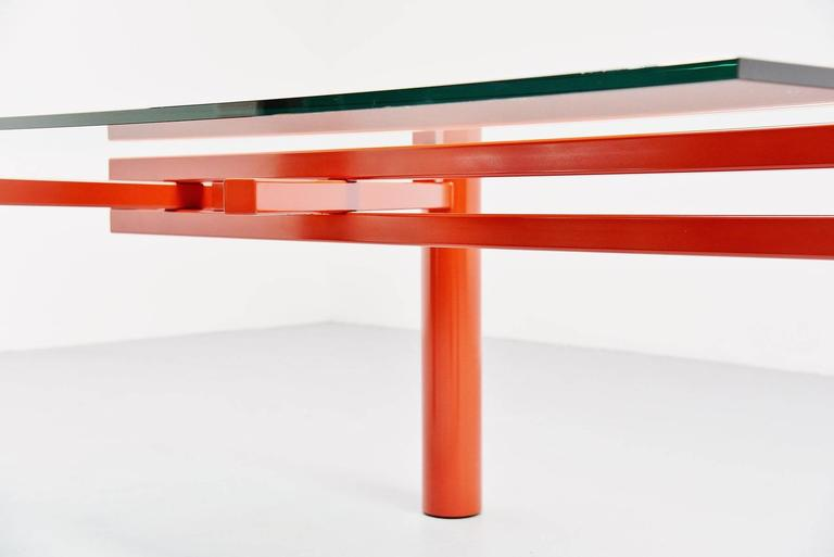 Lacquered Christophe Gevers Working Table for be.classics, 2001 For Sale