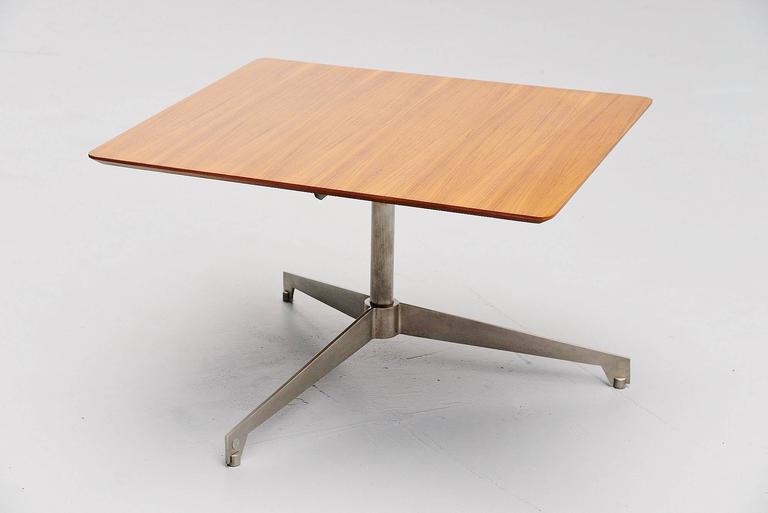 Mid-Century Modern Osvaldo Borsani Adjustable Table Tecno, Italy, 1960 For Sale