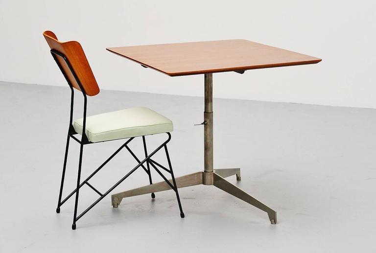 Osvaldo Borsani Adjustable Table Tecno, Italy, 1960 For Sale 3