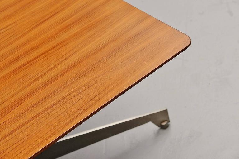 Mid-20th Century Osvaldo Borsani Adjustable Table Tecno, Italy, 1960 For Sale