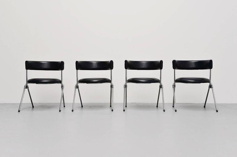 Werner Blaser Dining Chairs SZ09 't Spectrum, Holland, 1960 2