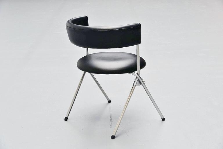 Werner Blaser Dining Chairs SZ09 't Spectrum, Holland, 1960 5