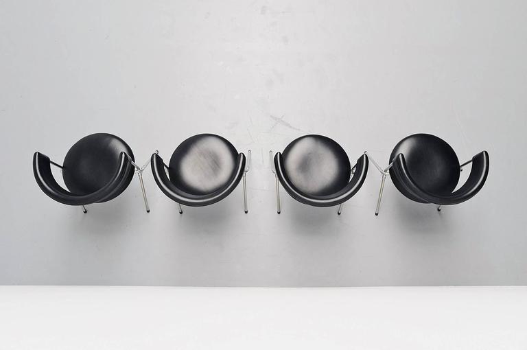 Werner Blaser Dining Chairs SZ09 't Spectrum, Holland, 1960 3
