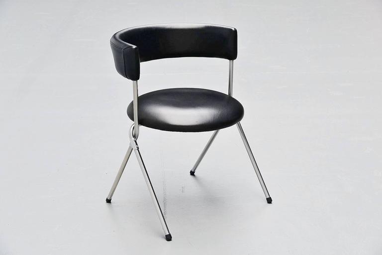 Werner Blaser Dining Chairs SZ09 't Spectrum, Holland, 1960 7