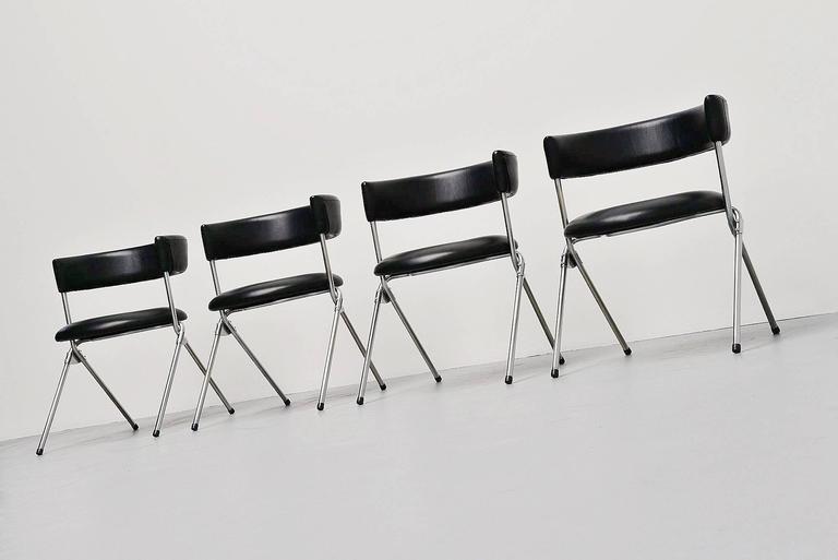 Werner Blaser Dining Chairs SZ09 't Spectrum, Holland, 1960 4