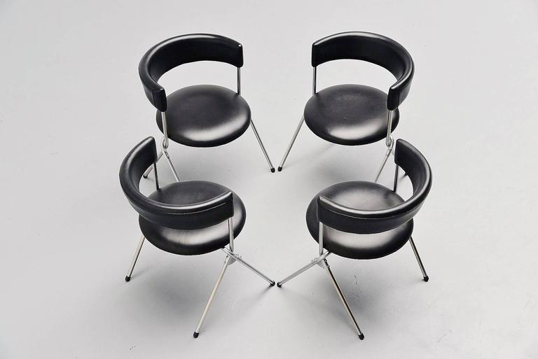 Werner Blaser Dining Chairs SZ09 't Spectrum, Holland, 1960 10