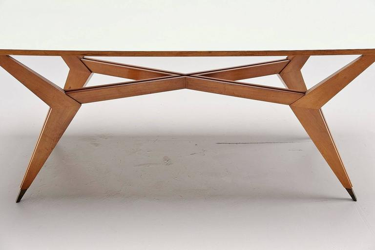 Mid-Century Modern Ico Parisi Dining Table Pre MIM Production, 1950 For Sale