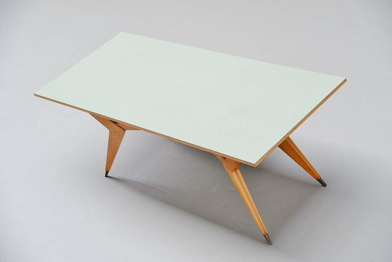 Italian Ico Parisi Dining Table Pre MIM Production, 1950 For Sale