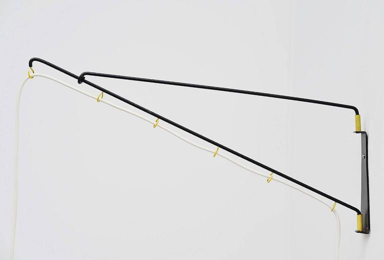 Mid-Century Modern Cosack Leuchten Balance Wall Lamp, Germany 1950 For Sale