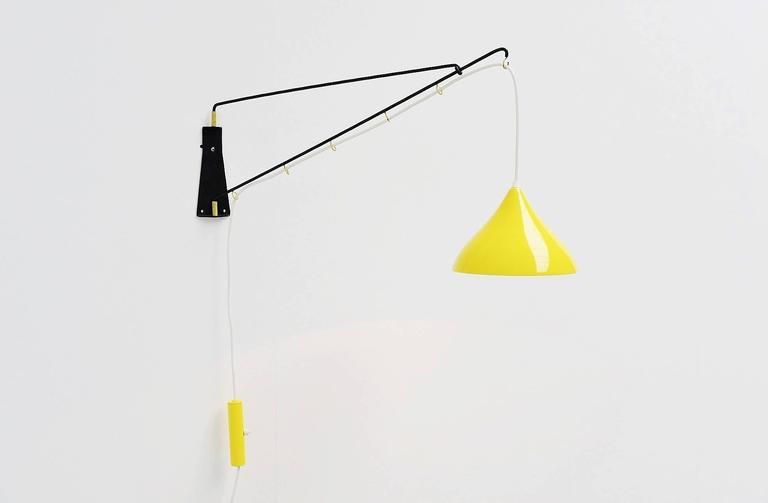 Cosack Leuchten Balance Wall Lamp, Germany 1950 For Sale 1