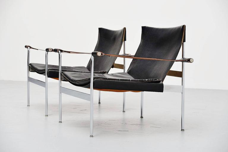 hans konecke tecta lounge chairs germany 1954 at 1stdibs. Black Bedroom Furniture Sets. Home Design Ideas
