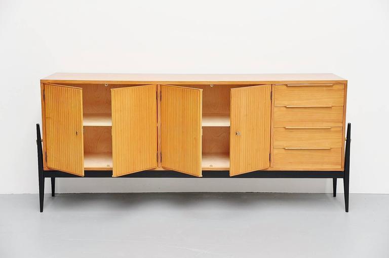 De Coene Sideboard Alfred Hendrickx Style, Belgium, 1950 For Sale 1