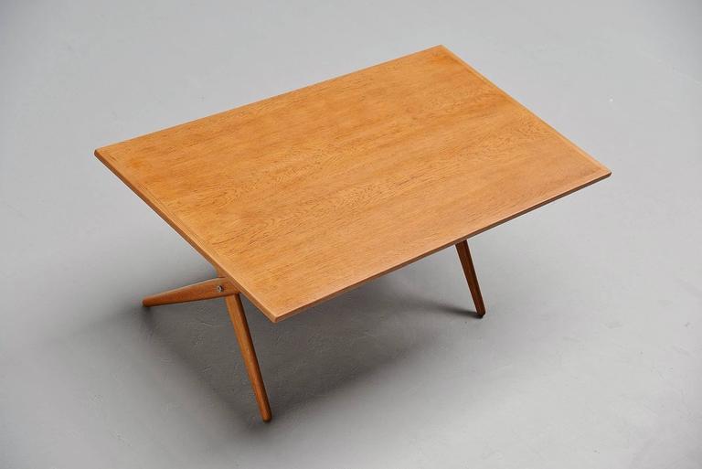 Mid-20th Century Hans Wegner AT-303 Sawhorse Table Andreas Tuck, Denmark, 1955 For Sale