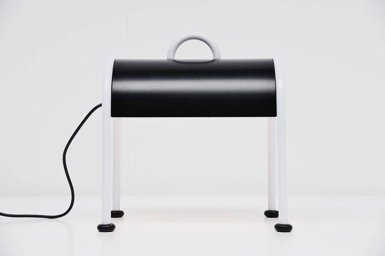 Ettore Sottsass Valigia Table Lamp by Stilnovo, Italy, 1977 4