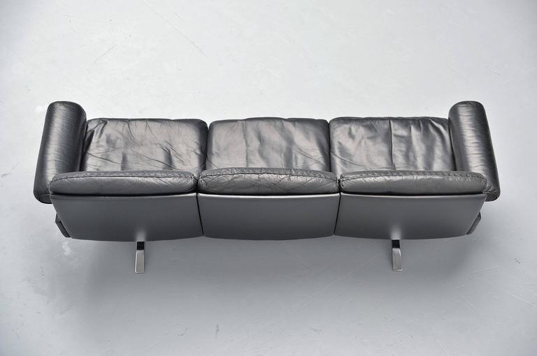 Late 20th Century De Sede DS31 Sofa Three-Seat, Switzerland, 1970 For Sale