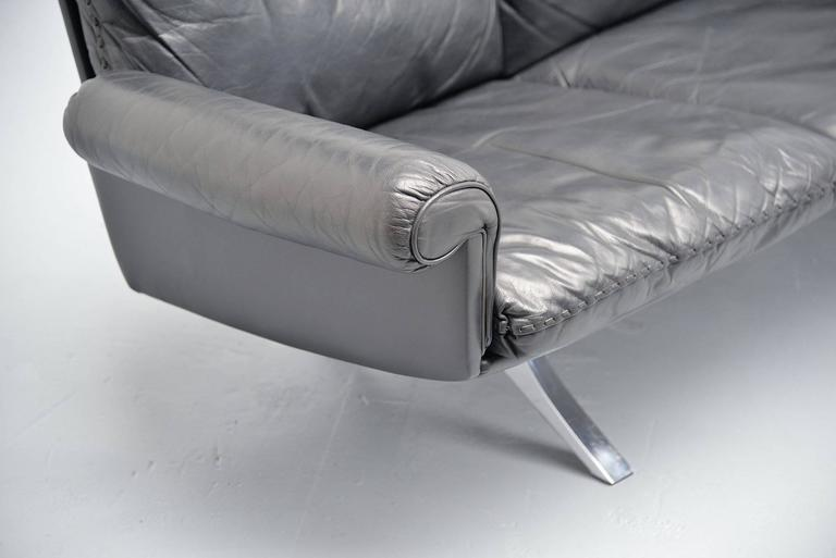 De Sede DS31 Sofa Three-Seat, Switzerland, 1970 In Good Condition For Sale In Roosendaal, Noord Brabant