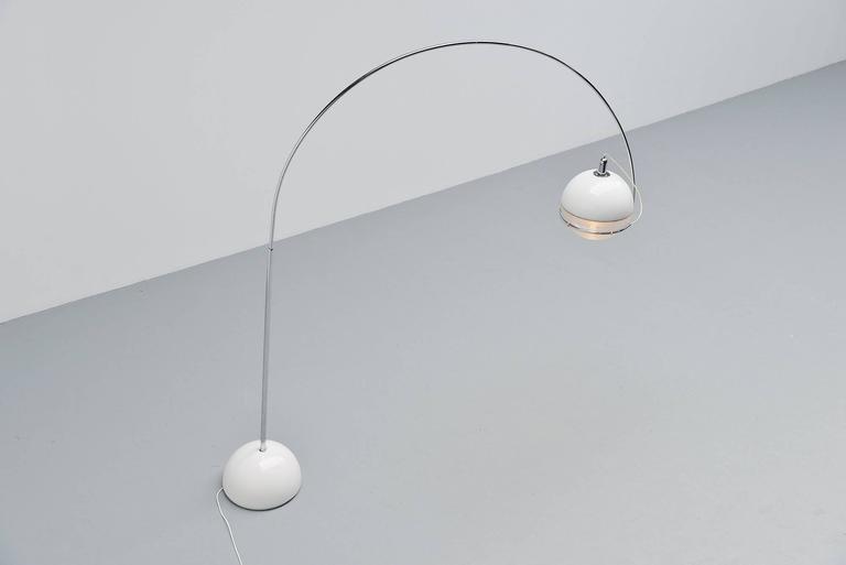 Late 20th Century Fabio Lenci Guzzini Focus Floor Lamp, Italy, 1972 For Sale