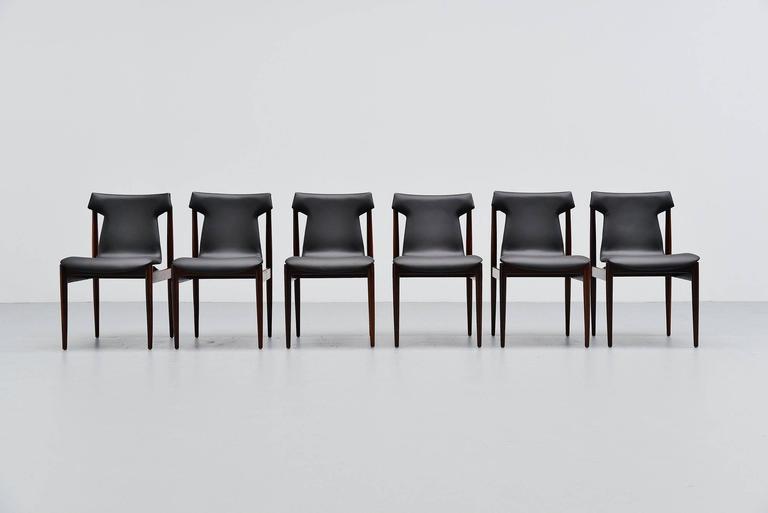 Inger Klingenberg IK Dining Chairs Fristho Franeker, 1960 3