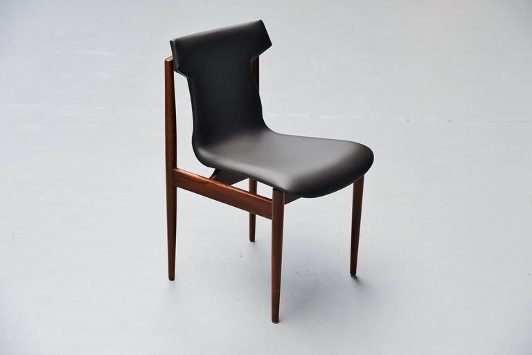 Inger Klingenberg IK Dining Chairs Fristho Franeker, 1960 7