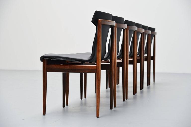 Inger Klingenberg IK Dining Chairs Fristho Franeker, 1960 4
