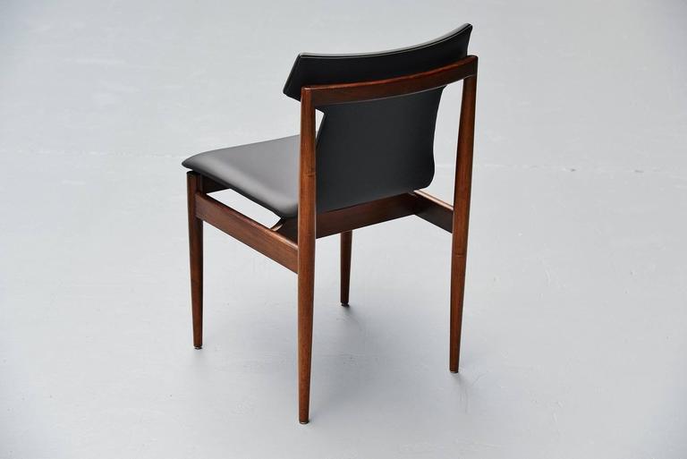 Inger Klingenberg IK Dining Chairs Fristho Franeker, 1960 8