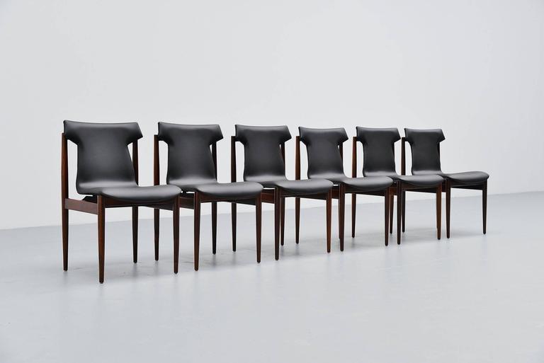 Inger Klingenberg IK Dining Chairs Fristho Franeker, 1960 5