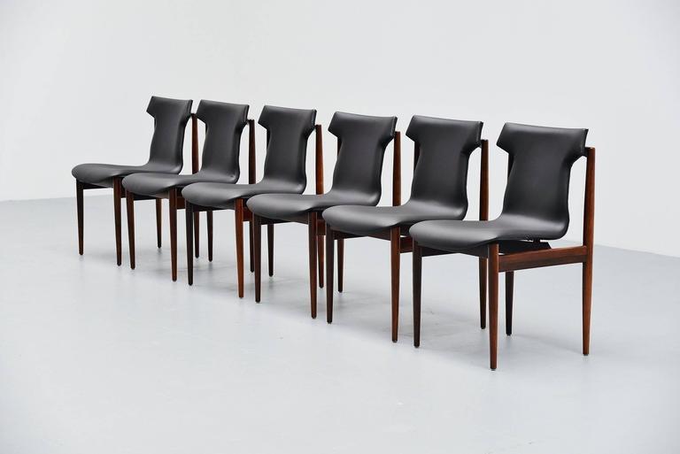 Inger Klingenberg IK Dining Chairs Fristho Franeker, 1960 2
