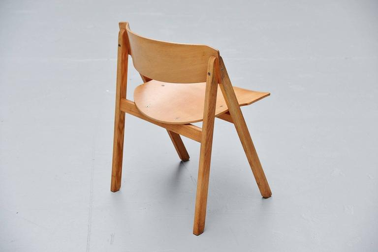 Birch Victor Bernt Dining Chairs by Soren Willadsen, Denmark, 1972 For Sale