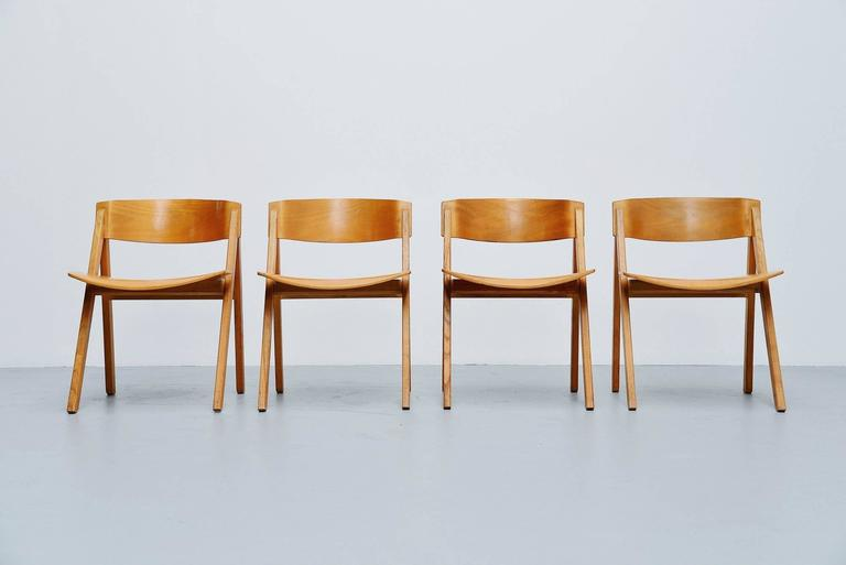 Scandinavian Modern Victor Bernt Dining Chairs by Soren Willadsen, Denmark, 1972 For Sale