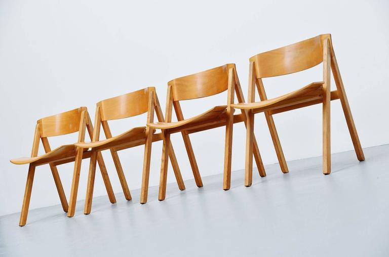 Danish Victor Bernt Dining Chairs by Soren Willadsen, Denmark, 1972 For Sale