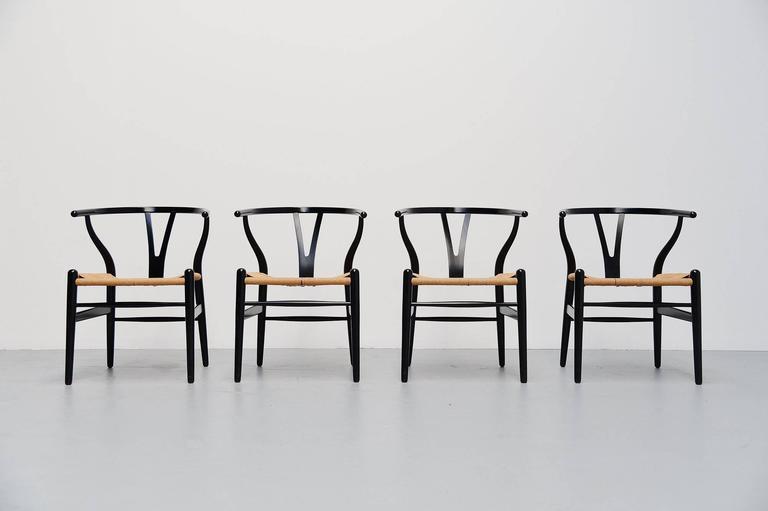 Hans Wegner Wishbone Chairs Carl Hansen, Denmark, 1949 2
